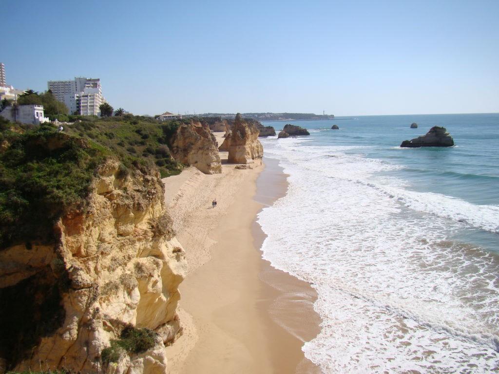 Praia da Rocha, Algarve,as mais belas praias de Portugal