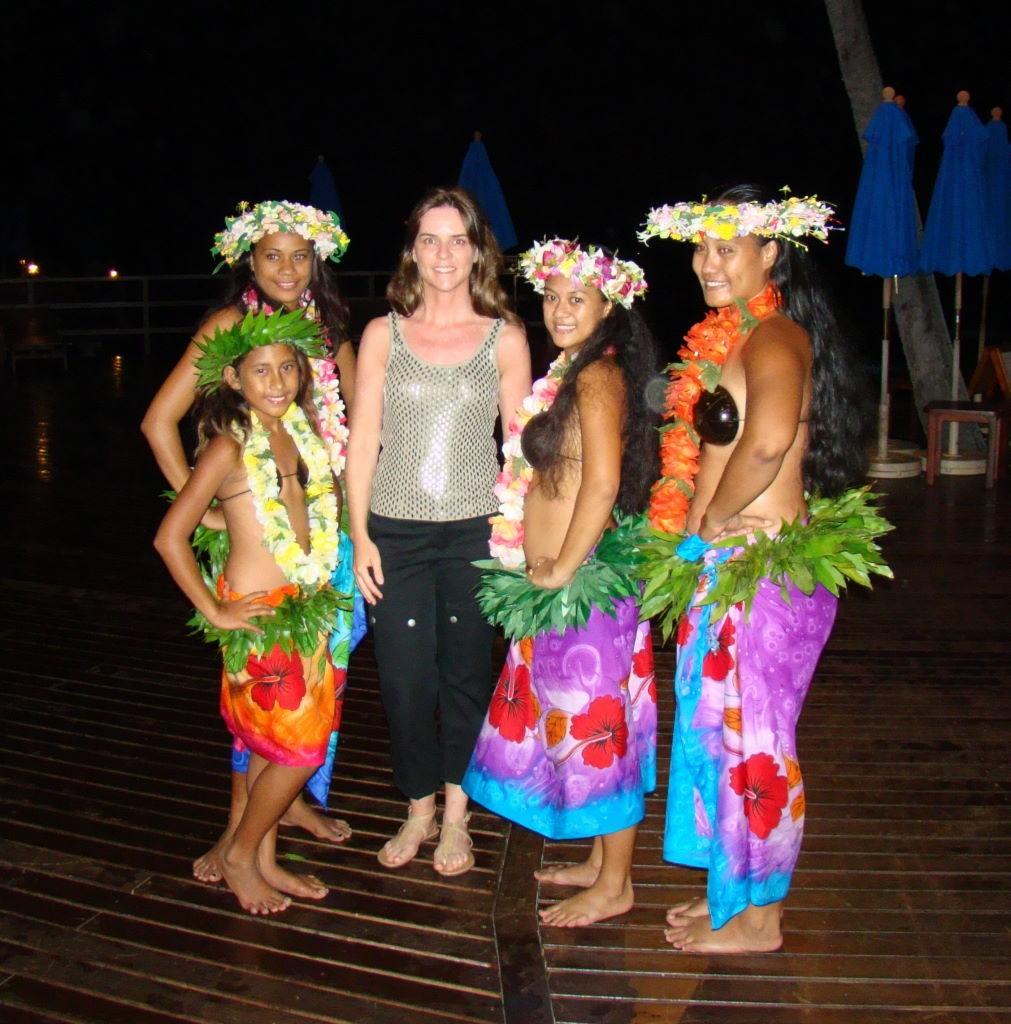 Show de dança polinésia no Hotel Kia Ora em Rangiroa - Ilha paradisíaca da Polinésia Francesa