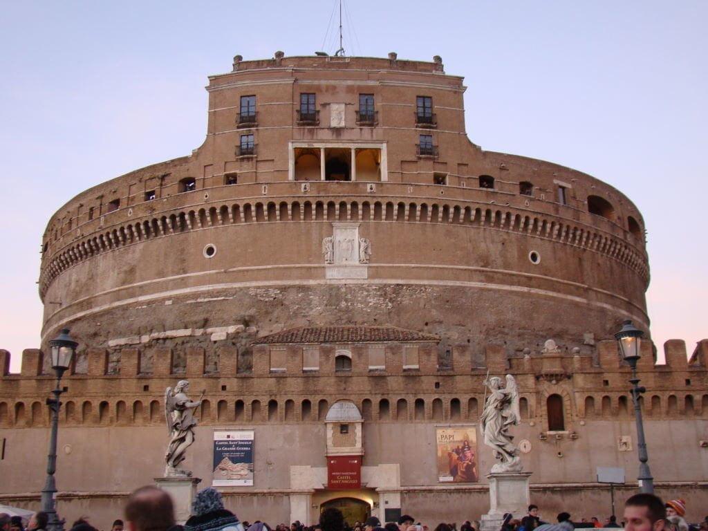 Castelo di Sant'Angelo - Pontos Turísticos de Roma - O que fazer em 3 dias