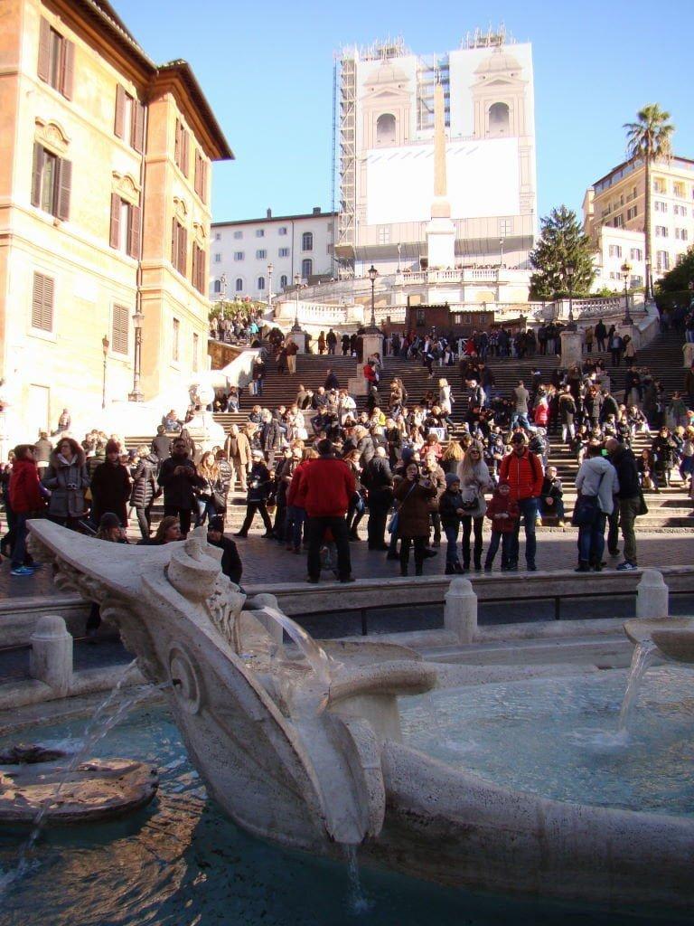 Piazza di Spagna - Pontos Turísticos de Roma - O que fazer em 3 dias