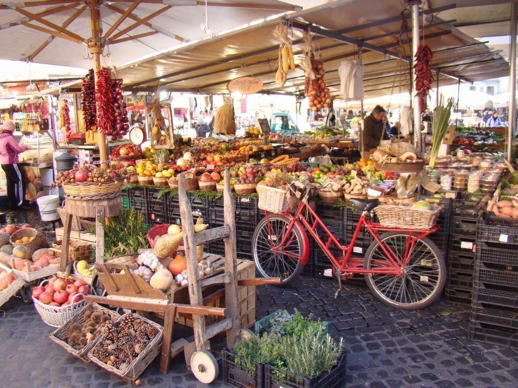 Campo dei Fiori - Pontos Turísticos de Roma - O que fazer em 3 dias