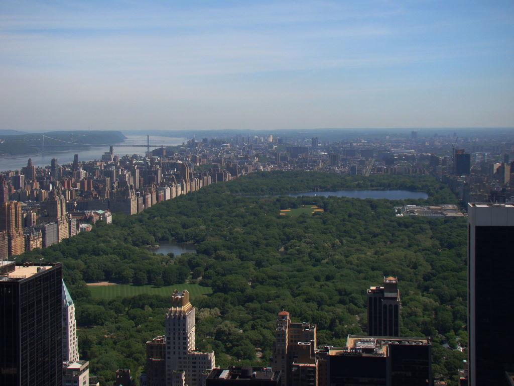 Parque em Nova York? Central Park!