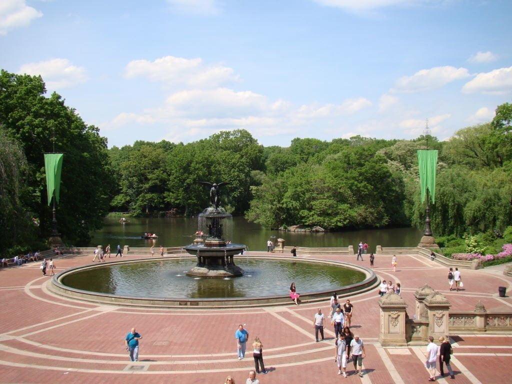 Bethesda Fountain - Parque em Nova York? Central Park!