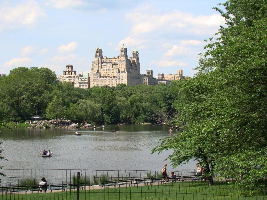 The Lake - Parque em Nova York? Central Park!