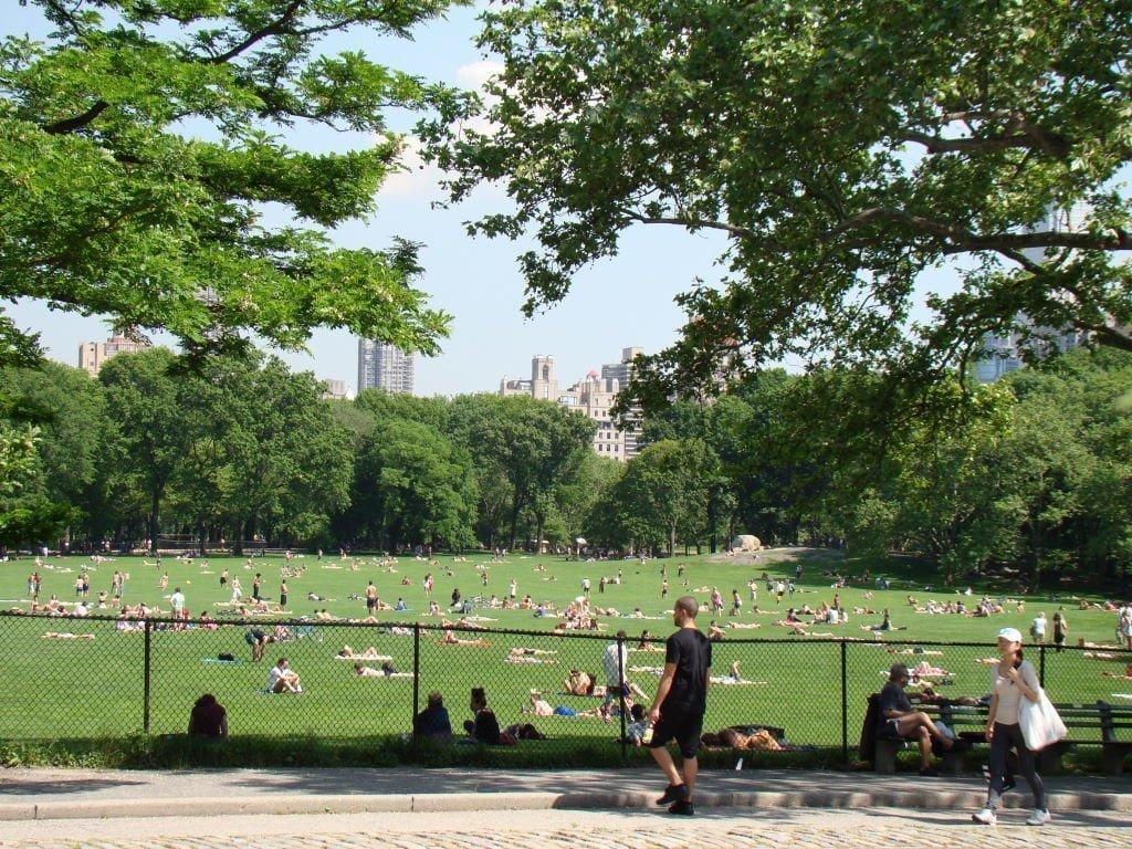Sheep Meadow - Parque em Nova York? Central Park!