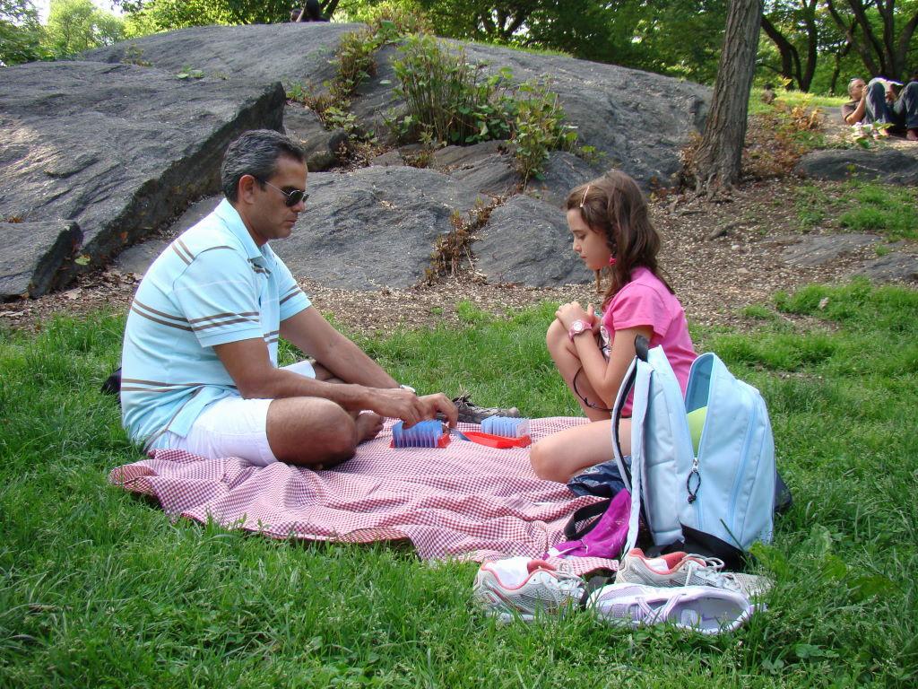 Piquenique - Parque em Nova York? Central Park!