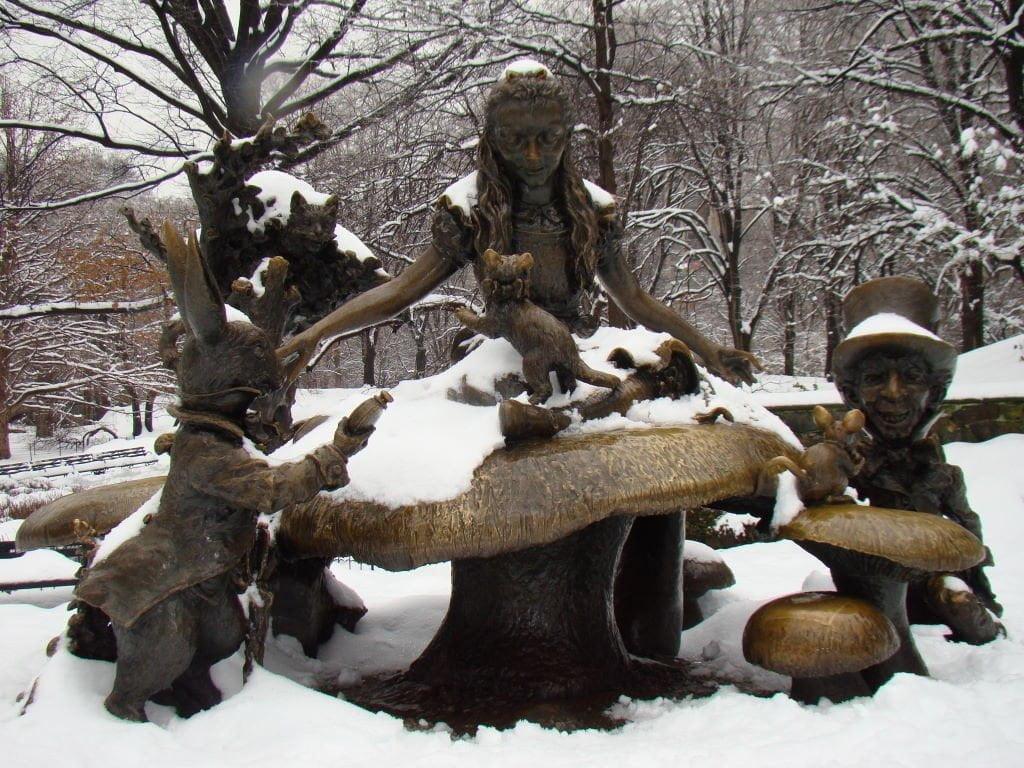 Alice - Parque em Nova York? Central Park!