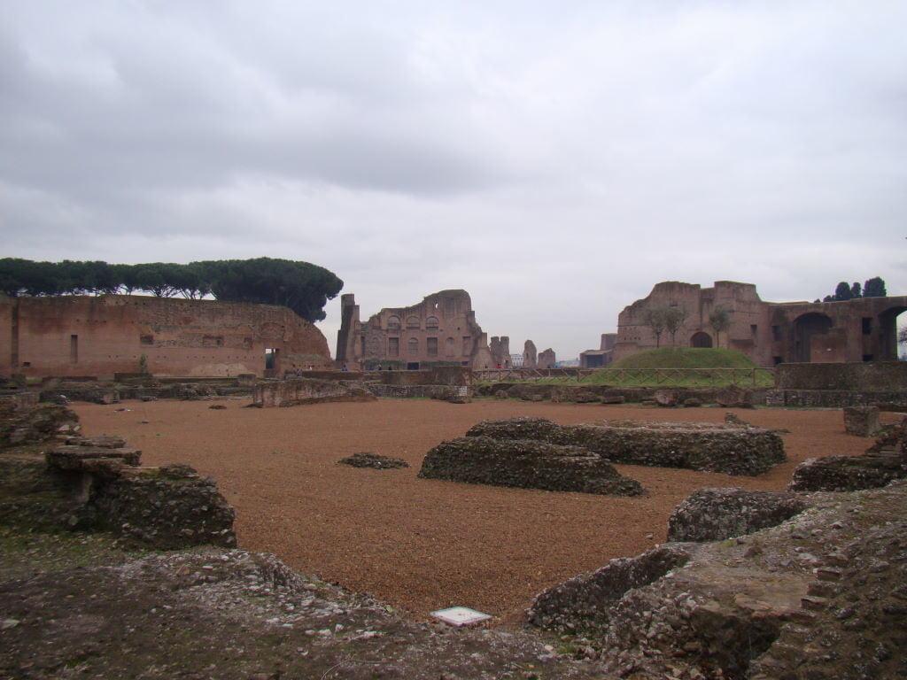 Palatino - Colina ao lado do Coliseu - Pontos Turísticos de Roma - O que fazer em 3 dias