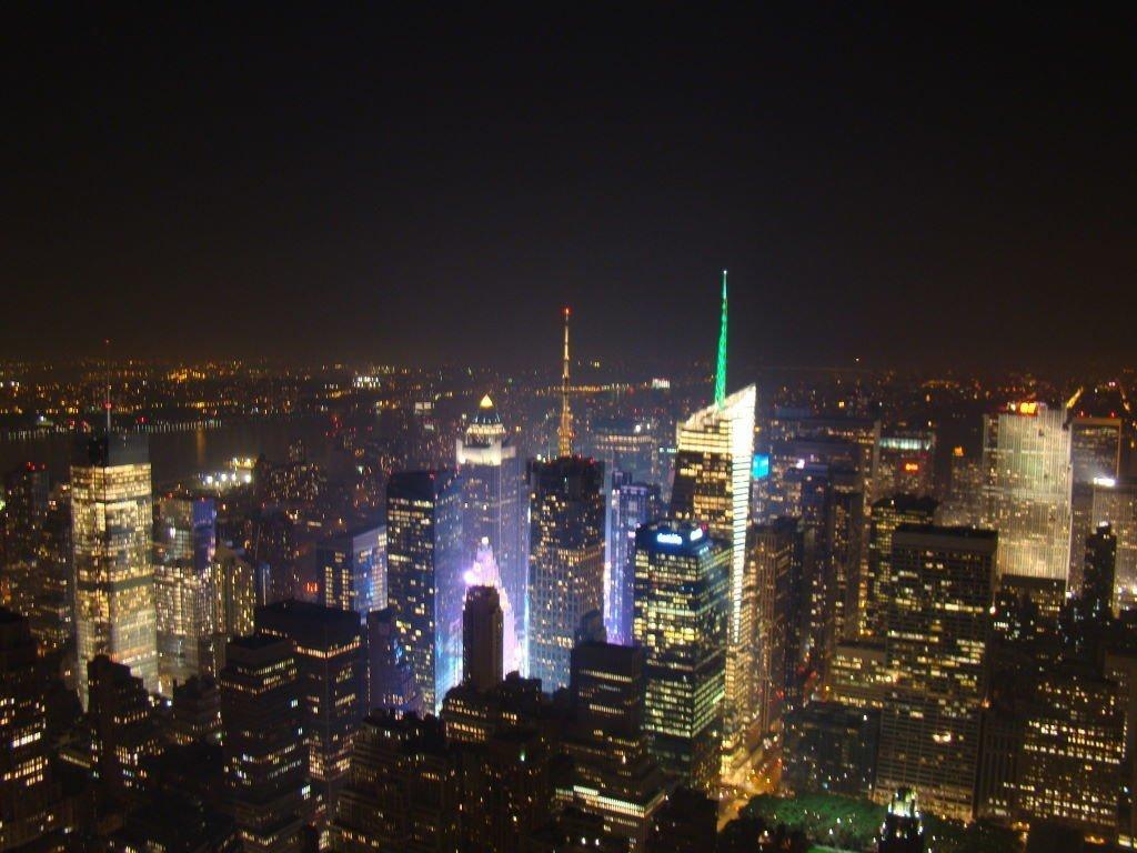 Times Square vista do Empire State - Principais Pontos Turísticos de Nova York