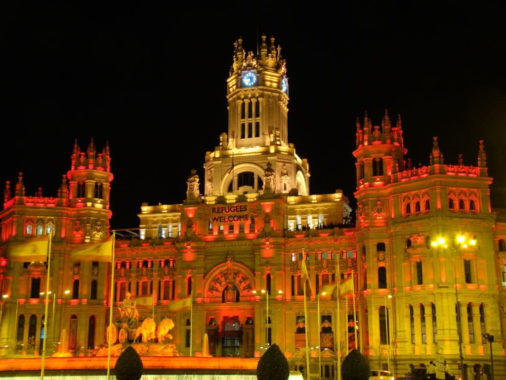 Palácio de Cibeles - Madrid a pé