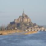 Monte Saint Michel na França