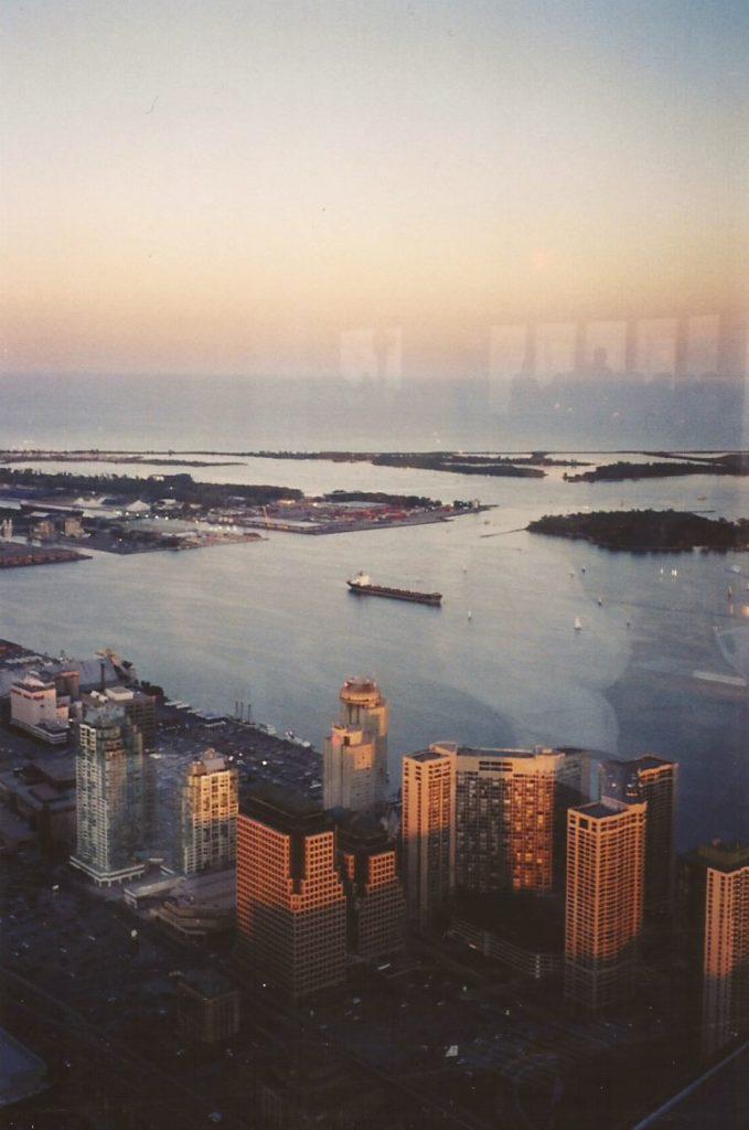 Vista da CN Tower - O que fazer em Toronto