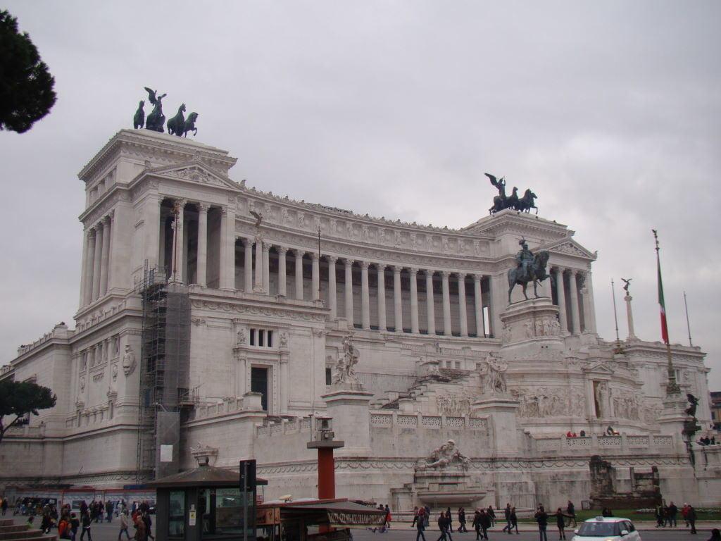 Monumento a Vittório Emannuele - Pontos Turísticos de Roma - O que fazer em 3 dias