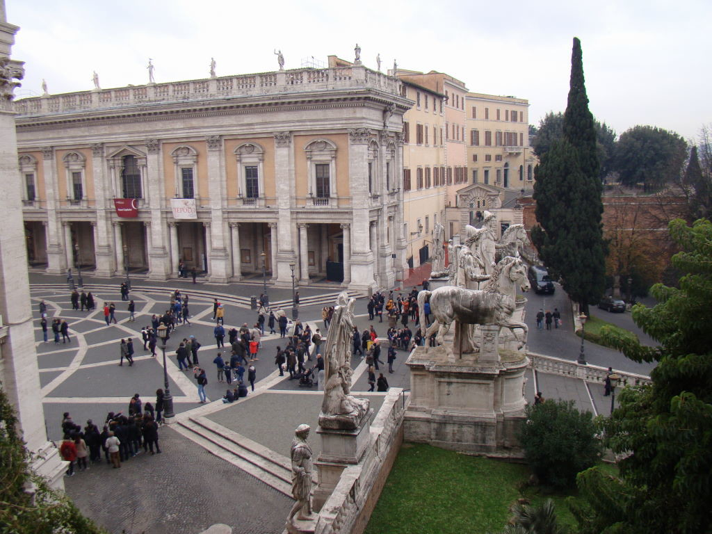 Cordonata e Piazza del Campidoglio - Pontos Turísticos de Roma - O que fazer em 3 dias