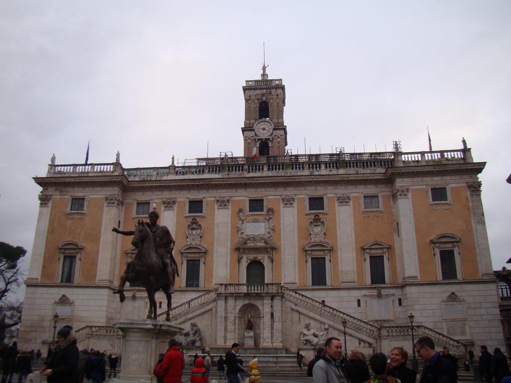 Palazzo Senatorio - Pontos Turísticos de Roma - O que fazer em 3 dias