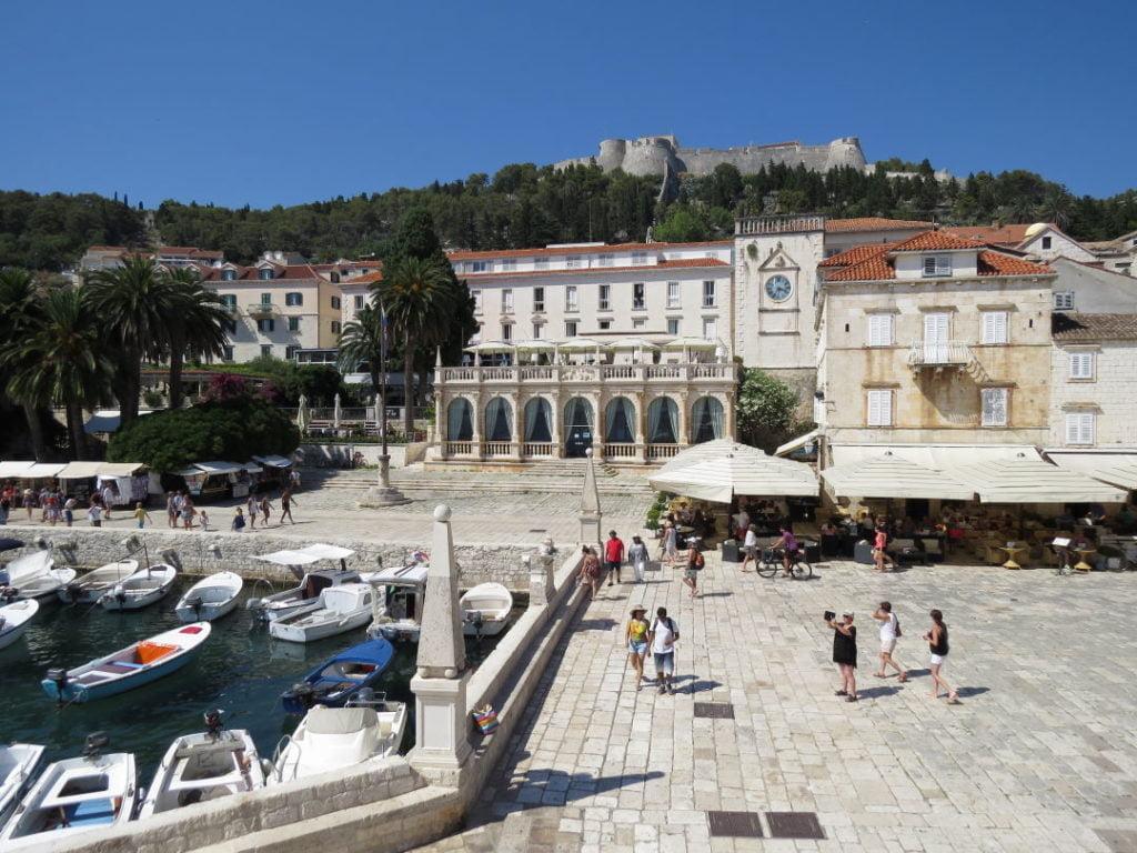 Hvar na Croácia - Croácia praias e pontos turísticos