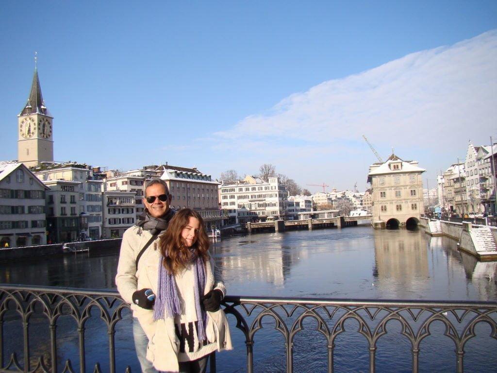 Stadthausquai - O que fazer em Zurique no inverno - Ano Novo e Pontos Turísticos