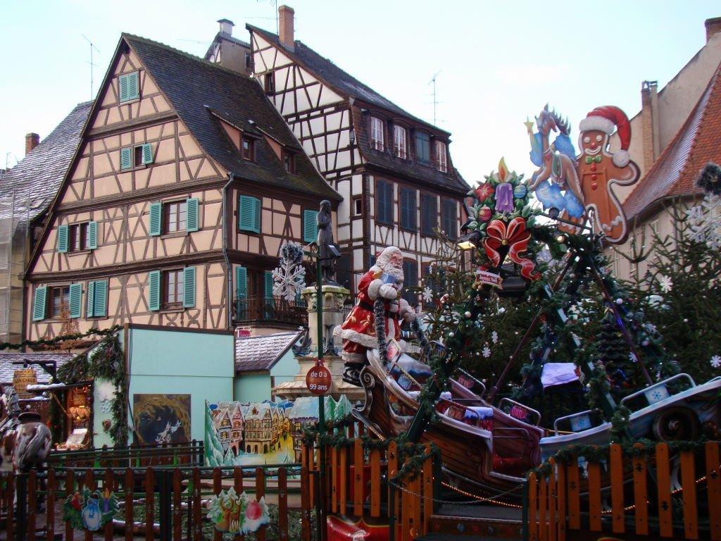 O que fazer em Colmar França no Natal