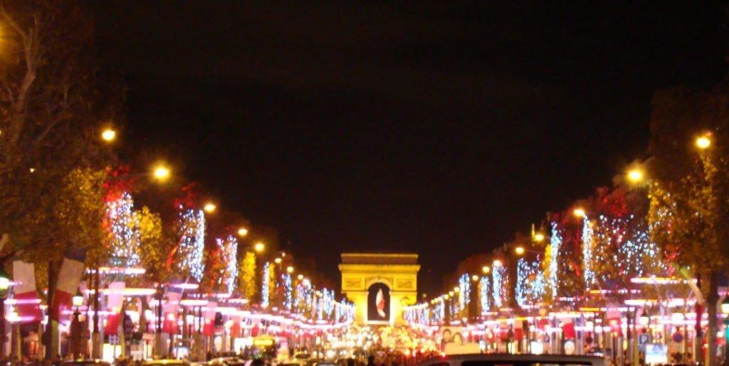 Champs-Elysées - Natal em Paris