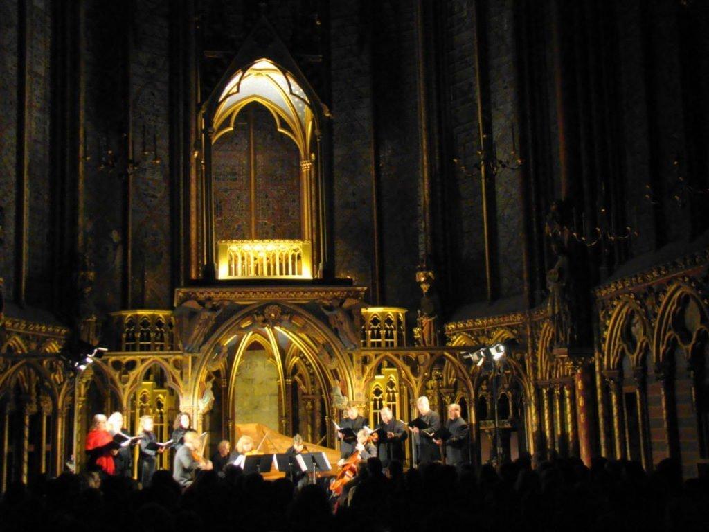 Sainte Chapelle - Natal em Paris