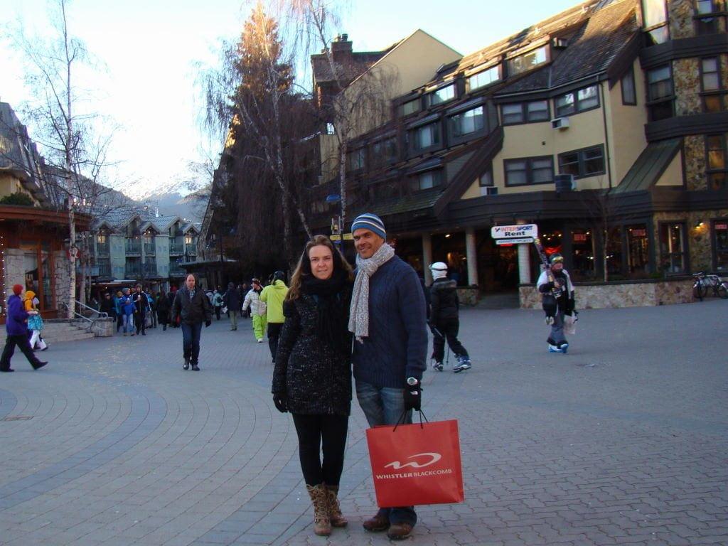 O centro - O que fazer em Whistler Canadá além de esquiar