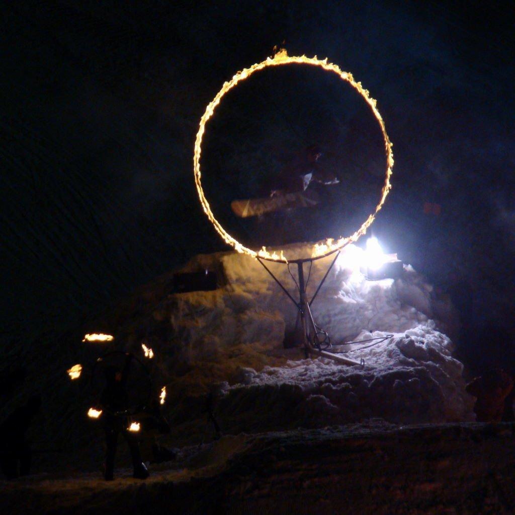 Fire & Ice Show -  Natal em Whistler - O que fazer fora das pistas