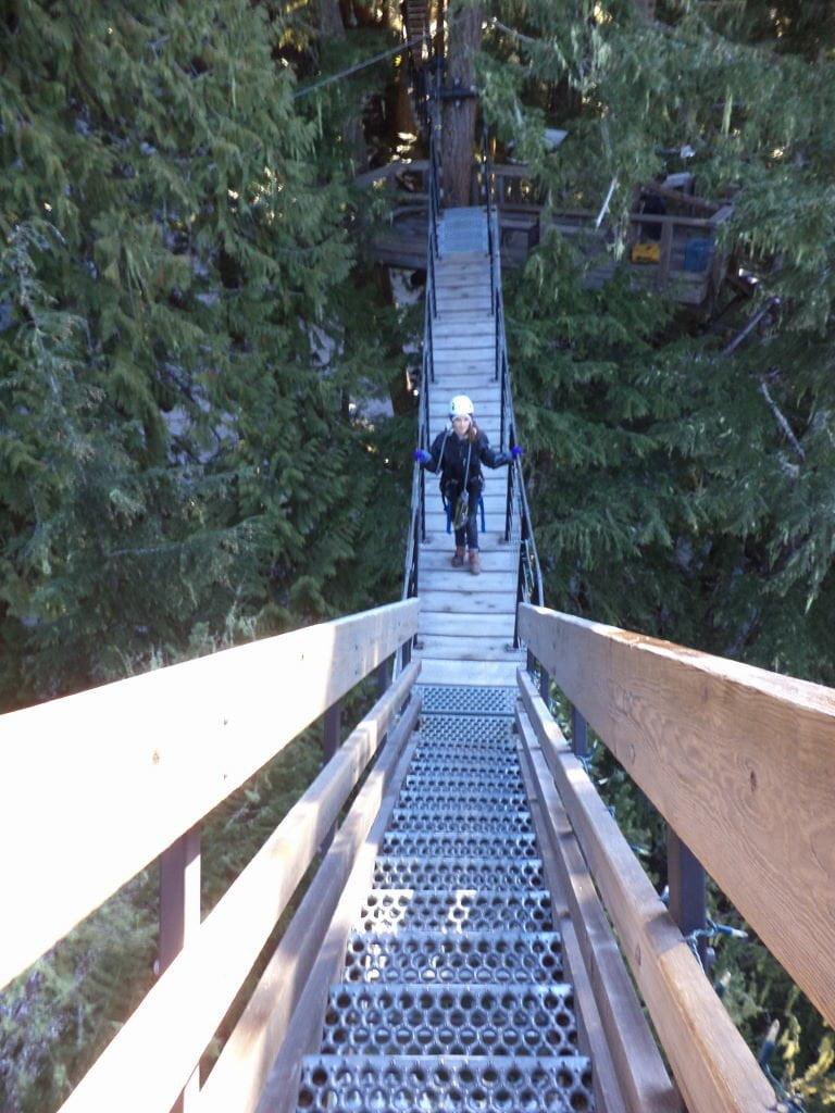 Ziptrek Tour - O que fazer em Whistler Canadá além de esquiar