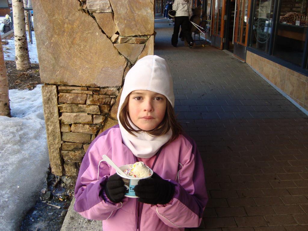 Muito sorvete! - O que fazer em Whistler Canadá além de esquiar