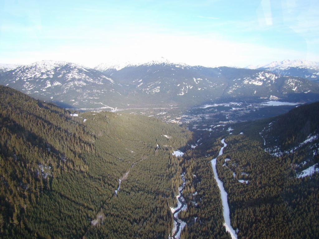 Vista da Peak 2 Peak - O que fazer em Whistler Canadá além de esquiar