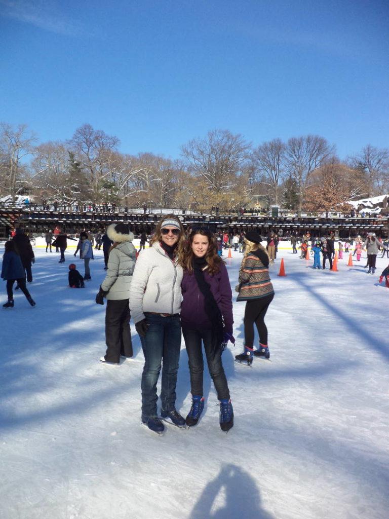 Trump Rink no Central Park - O que fazer em Nova York no inverno - Com neve!