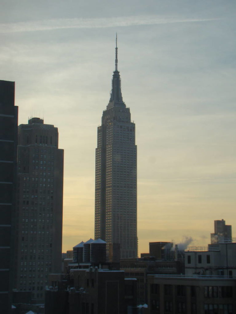 Empire State Building - O que fazer em Nova York no inverno - Com neve!