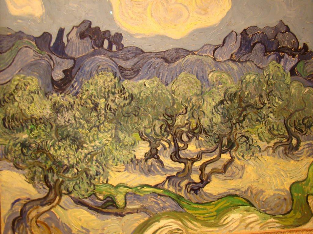 Van Gogh no MOMA - O que fazer em Nova York no inverno - Com neve!