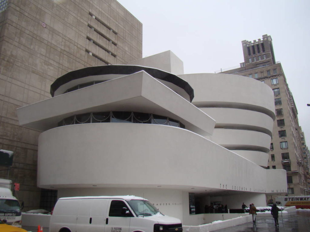 Guggenheim Museum - O que fazer em Nova York no inverno - Com neve!