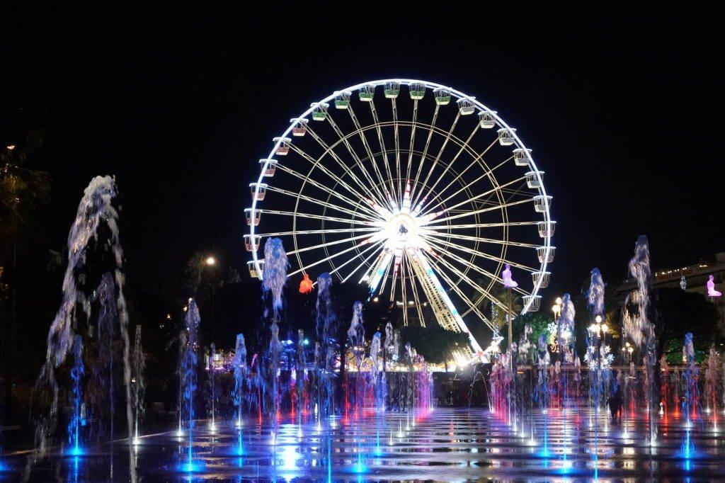 Promenade du Paillon em Nice - Inverno na Europa - Onde ir e o que fazer