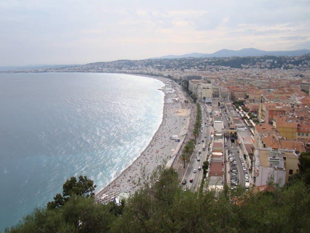 Nice vista da Colina do Castelo - O que fazer em Nice em 01 dia - Melhores atrações e dicas valiosas