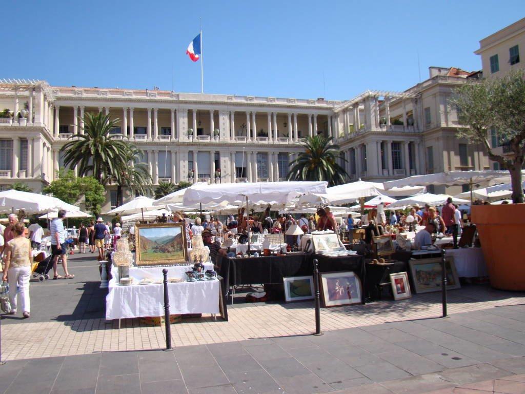 Le Cours Saleya e o Marché aux fleurs - O que fazer em Nice em 1 dia