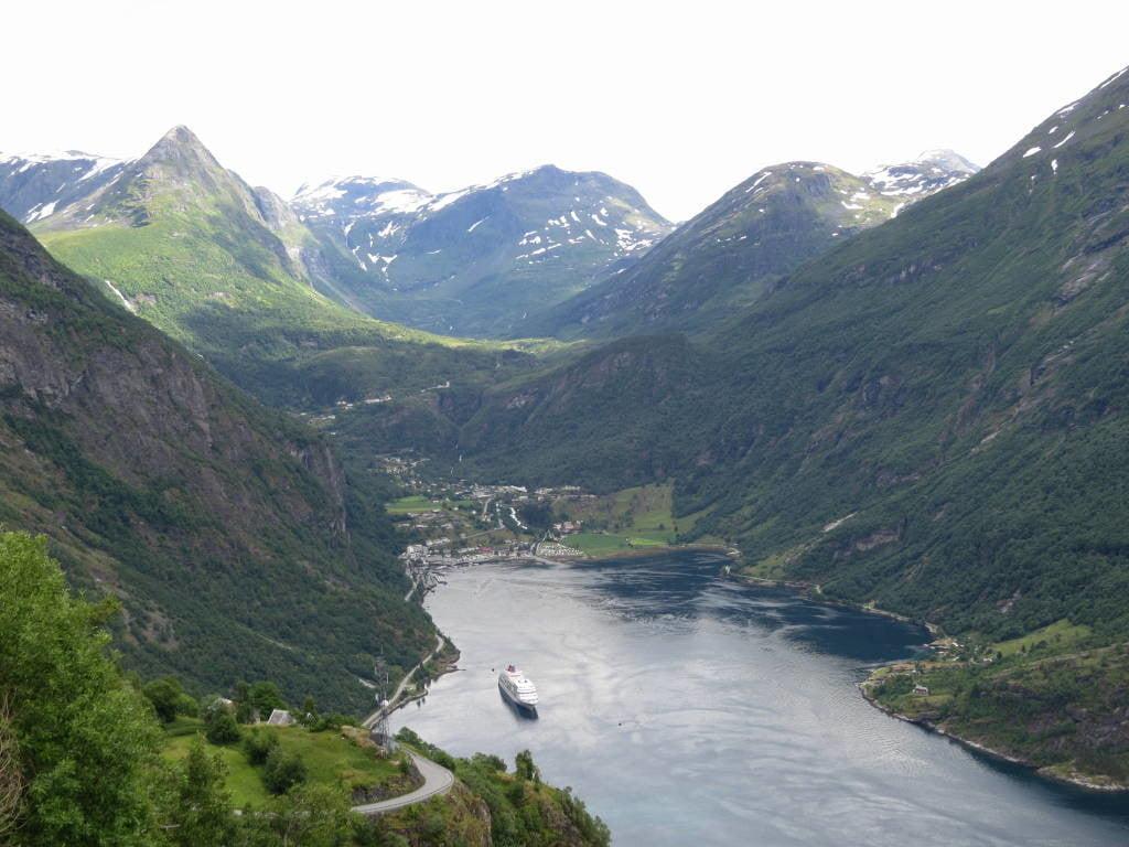 As mais belas vistas do Fiorde de Geiranger na Noruega