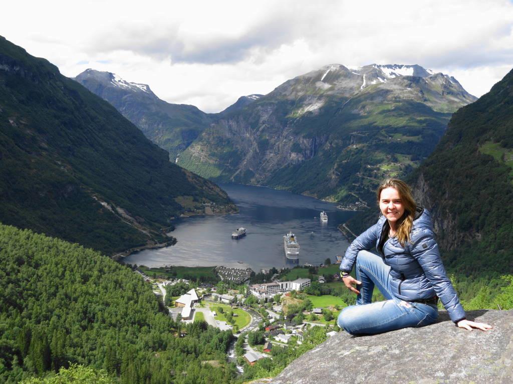 Flydalsjuvet - Fiorde de Geiranger - O mais belo dos fiordes na Noruega