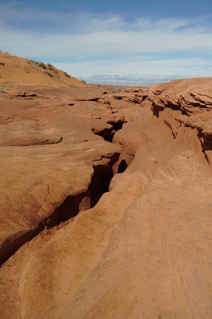 Lado de fora do Antelope Canyon - Dicas do Antelope Canyon EUA