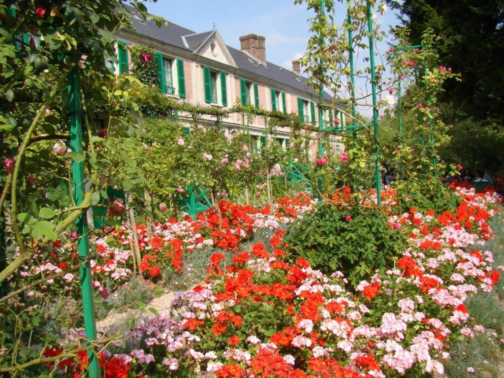 A Casa e Claude Monet - Jardim de Monet em Giverny França