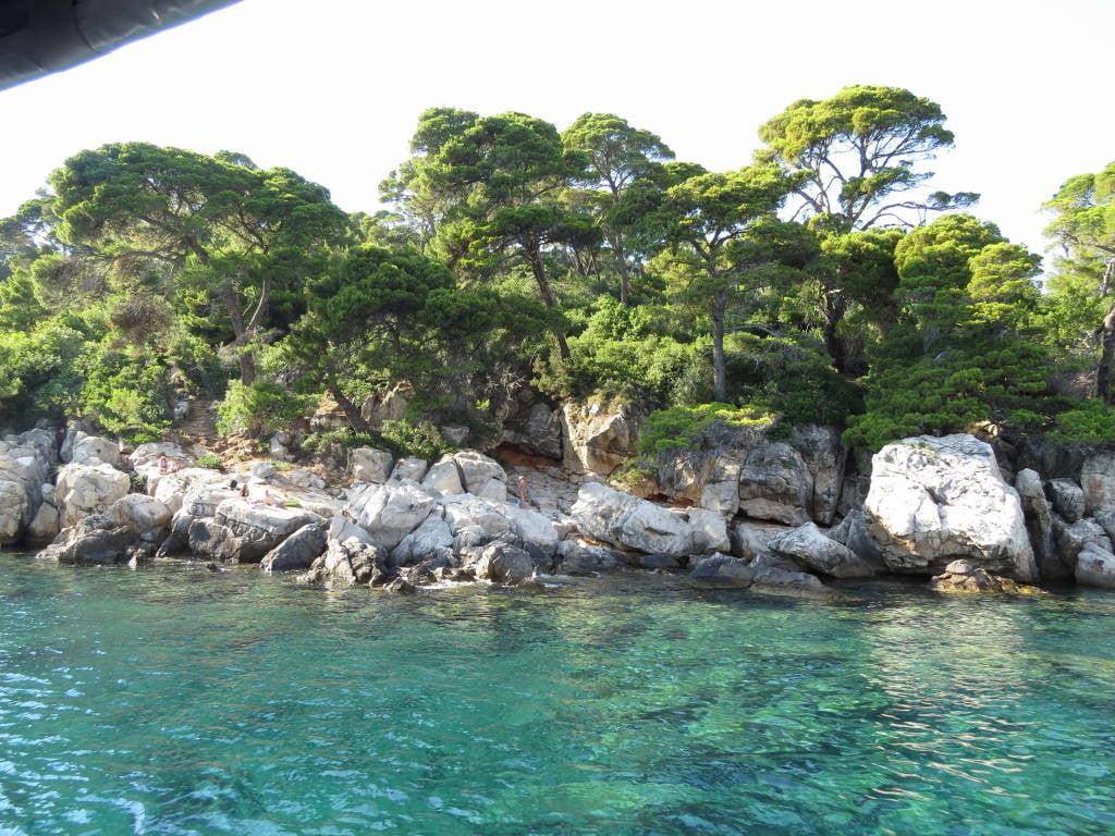 A Ilha de Lokrum na Croácia