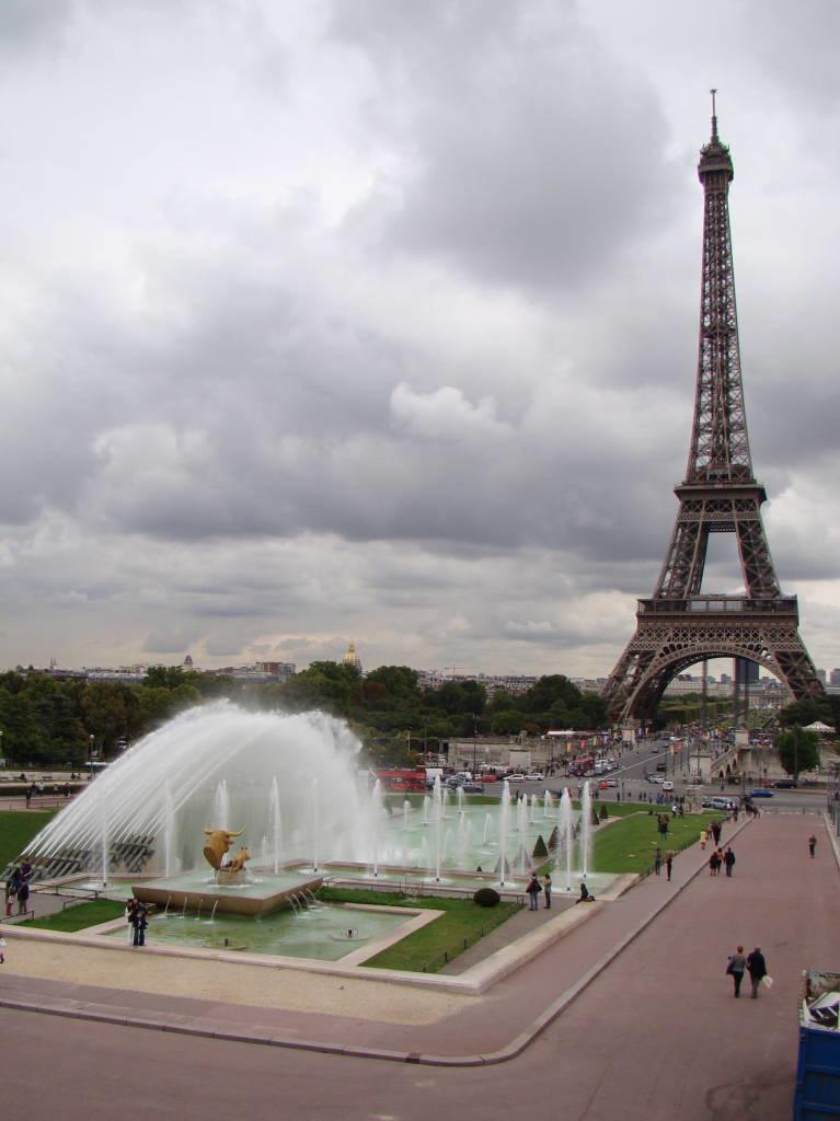 Trocadéro - Pontos turísticos de Paris - Roteiro 5 dias