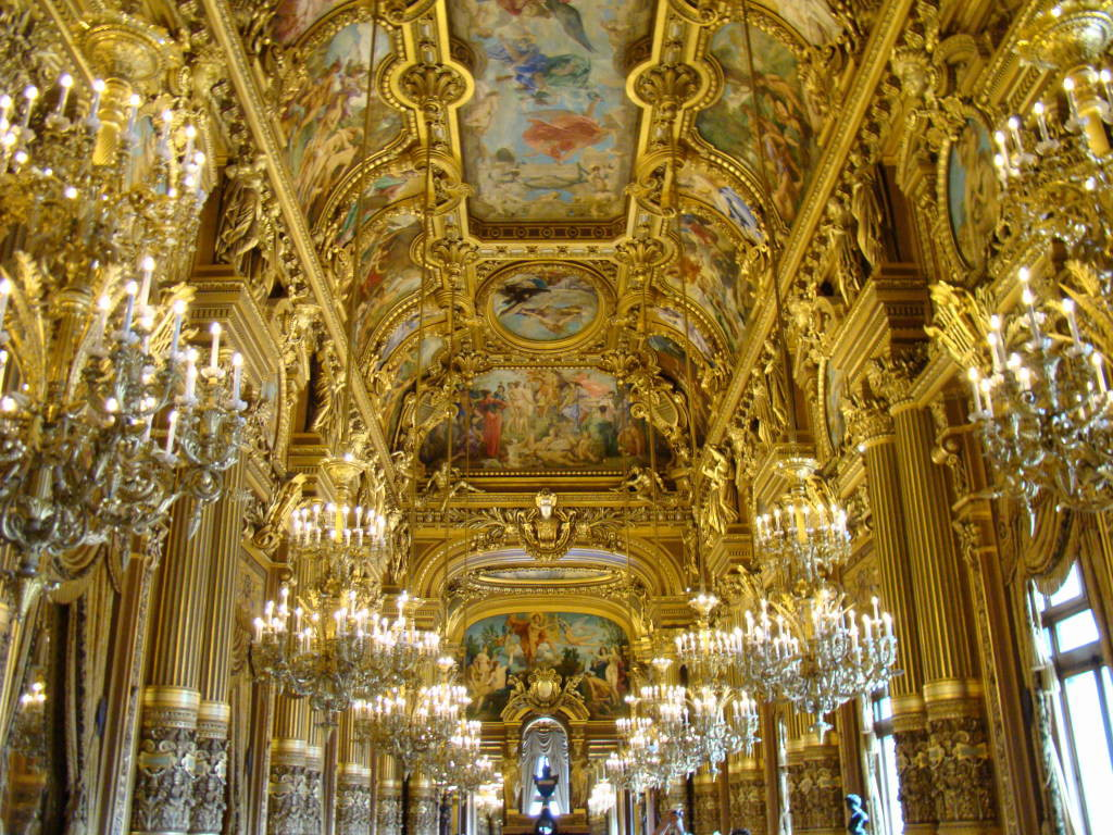 Ópera Garnier - Roteiro de 05 dias em Paris