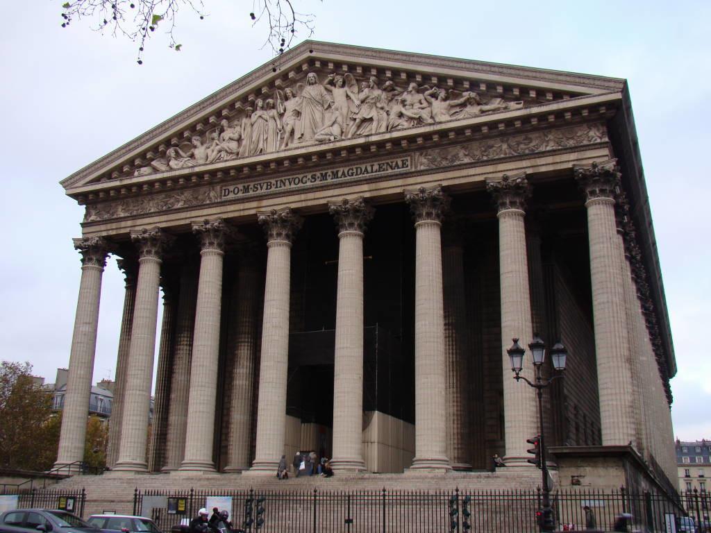 La Madeleine - Pontos turísticos de Paris - Roteiro 5 dias
