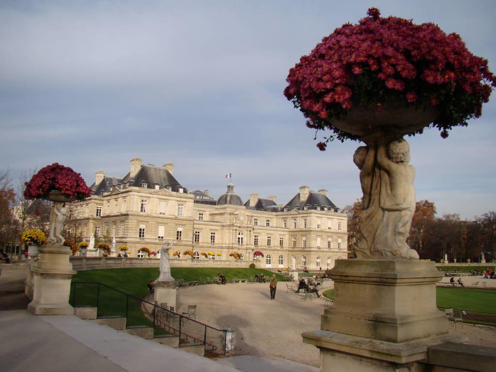 Jardins de Luxemburgo - Pontos turísticos de Paris - Roteiro 5 dias