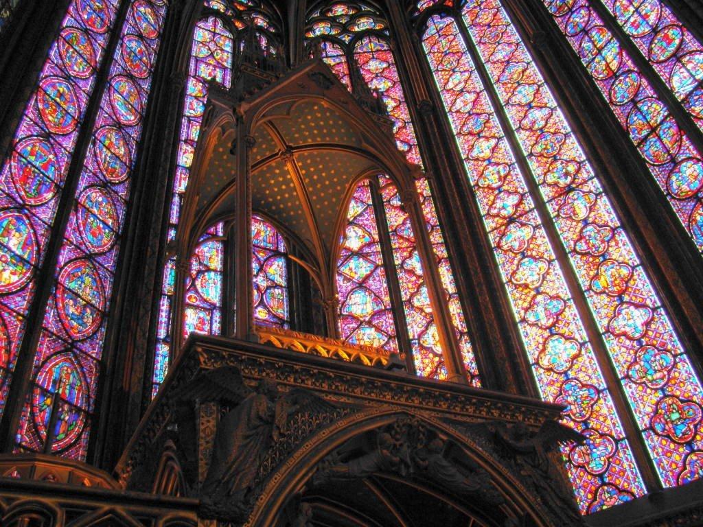Sainte Chapelle - Roteiro Paris 5 Dias - Pontos Turísticos