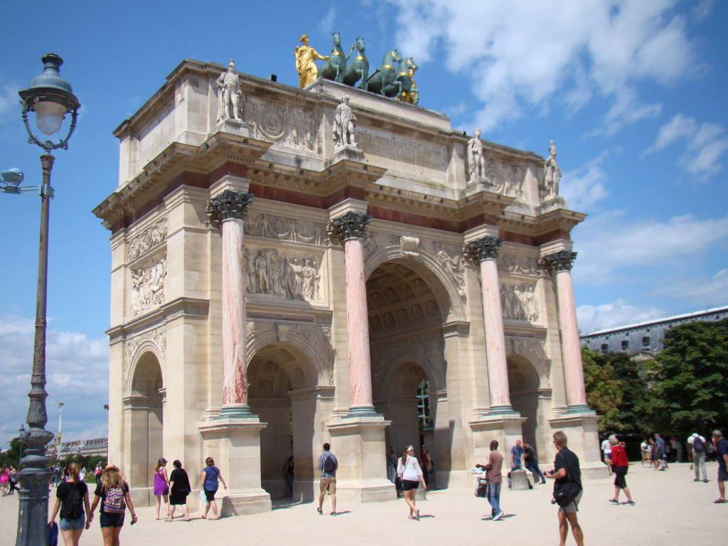 Arco do Triunfo do Carrossel - Roteiro Paris 5 Dias - Pontos Turísticos