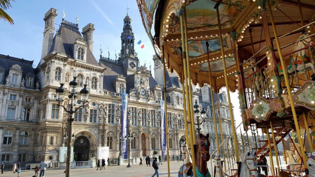 Hôtel de Ville - Roteiro Paris 5 Dias - Pontos Turísticos