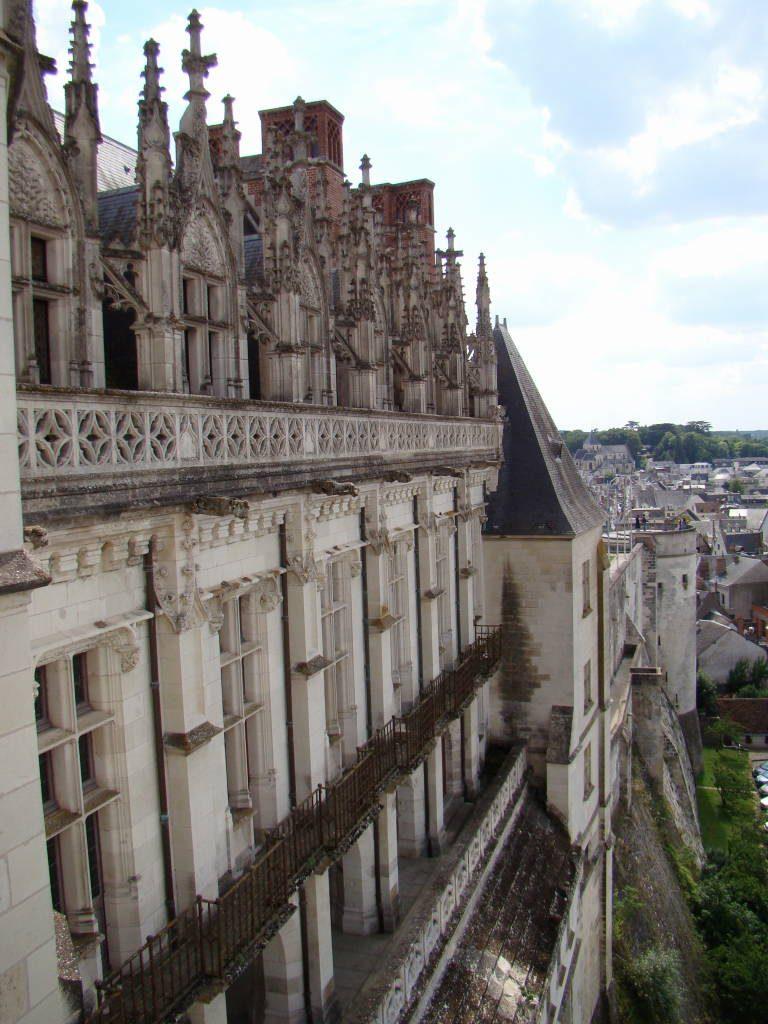 Castelo d'Amboise -Castelos na França - Os 5 Top no Vale do Loire