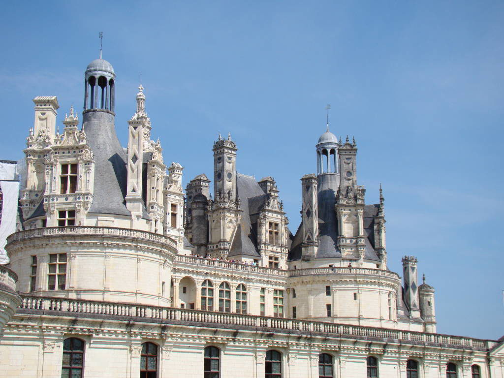 Castelo de Chambord - Castelos na França - Os 5 Top no Vale do Loire